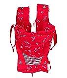 Koochie Koo Red Teddy Printed Baby Carrier