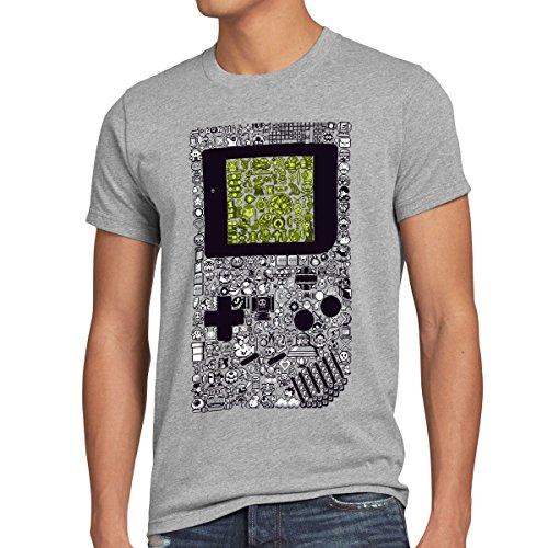 style3-8-bit-game-t-shirt-herren-pixel-boy-grossexlfarbegrau-meliert