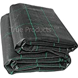 1m x 50m 100g Weed Control Ground Cover Membrane Landscape Fabric Heavy Duty