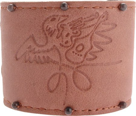 Rock Band Men's Roadie Wrist Cuff Jewelry,Brown,L US