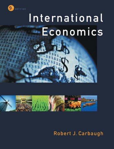 International Economics (with Xtra! and InfoTrac)