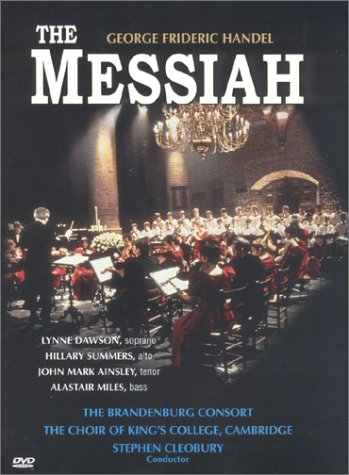 Handel - Messiah / Cleobury, Dawson, Summers, Brandenburg Consort