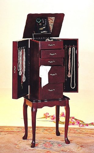 Black Friday Jewelry Armoire By Coaster Furniture Cyber Monday Sale Best Price