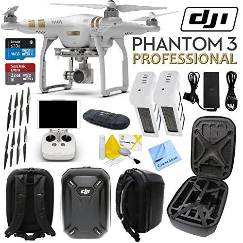 DJI Phantom 3 Professional Quadcopter Drone with 4K UHD Video Camera &am