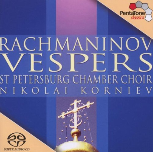 RACHMANINOFF / KORNIEV / ST PETERSBURG CHAMB CHOIR