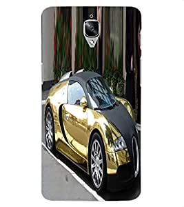 ColourCraft Aristocrat Car Design Back Case Cover for OnePlus Three