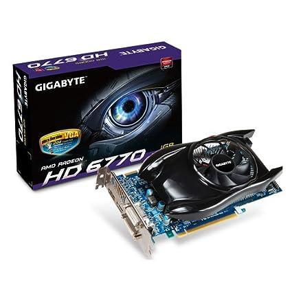 Gigabyte GV-R677UD-1GD Carte graphique AMD Radeon HD 6770 850MHz 1 Go GDDR5 PCI-Express