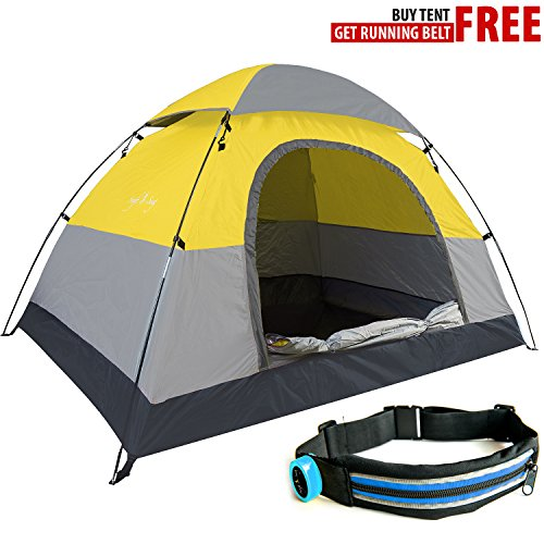 Portable Dome Tents : Swift n snug person camping tent best small