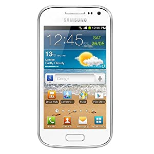 Samsung GT-I8160 Galaxy Ace 2 Unlocked 3G GSM Phone with 3.8-Inch Touchscreen, Android OS, 5MP Camera, Wi-Fi, Bluetooth and GPS - US Warranty - White