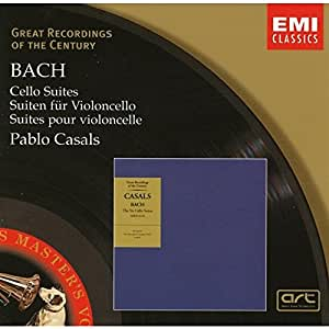 Bach : Suites pour violoncelle 1-6 (Coll. Great Recordings Of The Century)