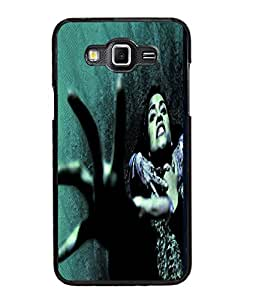Fuson Scary Girl Back Case Cover for SAMSUNG GALAXY GRAND MAX - D3862