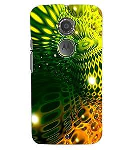 ColourCraft Abstract image Design Back Case Cover for MOTOROLA MOTO X2