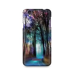 Mobicture Nature Abstract Premium Designer Mobile Back Case Cover For Micromax YU Yureka A05510