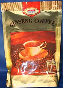 Amazon.com : CNI Ginseng Coffee Pouch (20 Sachets 20 Gms Each) : Instant Coffee : Grocery & Gourmet Food213 x 300 jpeg 13kB