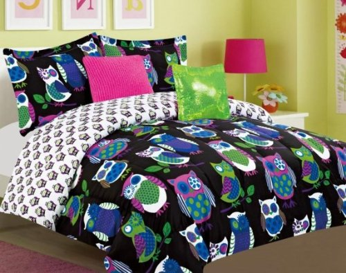 Luxury Home Yukon-T-Blue 5-Piece Yukon Comforter Set, Blue - Twin front-939262