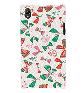 Ebby Premium Printed Mobile Back Case Cover With Full protection For Sony Xperia Z1 (Designer Case)