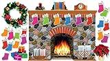 ISBN 9780545469135 product image for Holiday Hearth Bulletin Board (SC546913) | upcitemdb.com