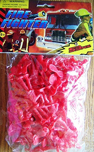 Fire Fighter Figurines (53 Pieces)