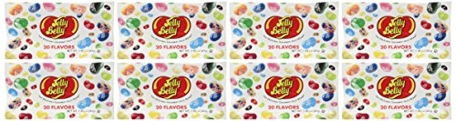 Jelly Belly 20 Flavors Gourmet Jelly Beans Snack Bags - 1.45 Ounce Packages (8 Pack) For Small Storage Spaces (Packages Of Blue Jelly Beans compare prices)