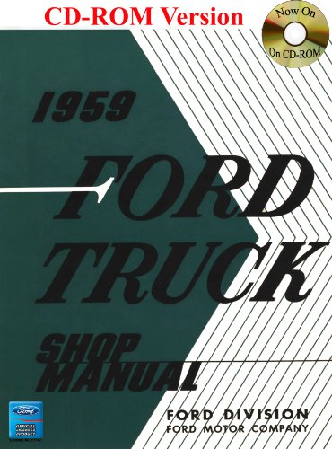 1959 Ford Truck Shop Manual front-832009