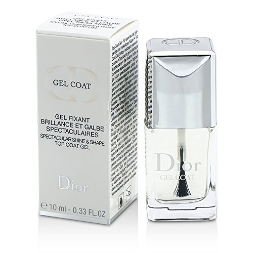 Christian Dior Gel Top Coat for Unisex, 0.33 Ounce