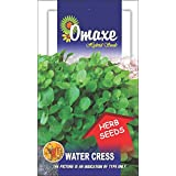 Omaxe Water Cress Imported Herb - 50 Seeds Pack Herb Seeds