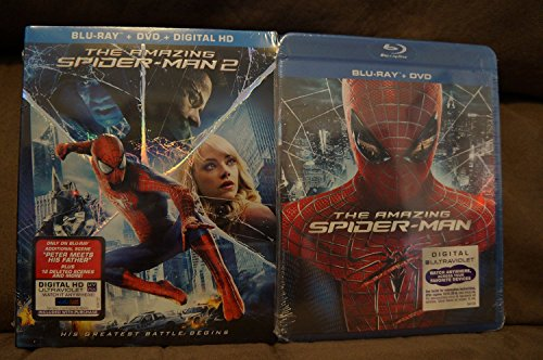 AMAZING SPIDER-MAN 2/AMAZING SPIDER-MAN Double Pack BLU-RAY+DVD (Both Movies together)
