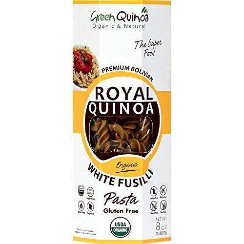 White Fusilli 100% Quinoa Pasta (Pack of 6) (Corn Free Quinoa Pasta compare prices)