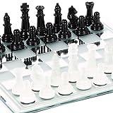Canal Street Glass Chess Set