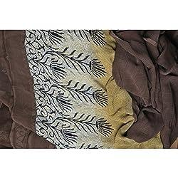 Triveni Faux Georgette Fabrics (TSFP20_Multi)
