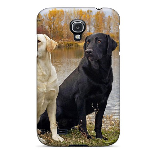 Hot New Ying Yang Dogs Case Cover For Galaxy S4 With Perfect Design
