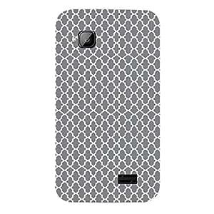 Skin4gadgets BLACK & WHITE PATTERN 1 Phone Skin for MICROMAX S300