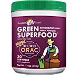 ORAC Green SuperFood Drink Powder 7.4 oz Powder Berry