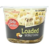 Betty Crocker Microwaveable Mashed Potato Cup, Loaded, 1.2 Ounce (Pack of 12)