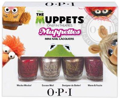 OPI mini muppets set
