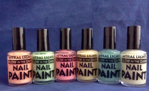 1 Bottle-Glow in the Dark Nail Polish-Choice of Color