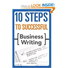 10 Steps to Successful Business Writing (10 Steps) (9781562864811)