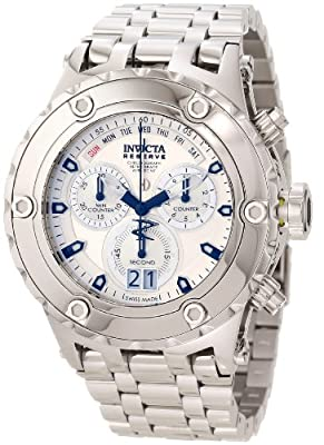Invicta Reserve Men's Specialty Subaqua Swiss Made Quartz Chronograph High Polish Bracelet Watch