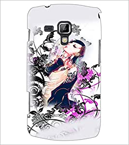 PrintDhaba Abstract Image D-4817 Back Case Cover for SAMSUNG GALAXY S DUOS S7562 (Multi-Coloured)