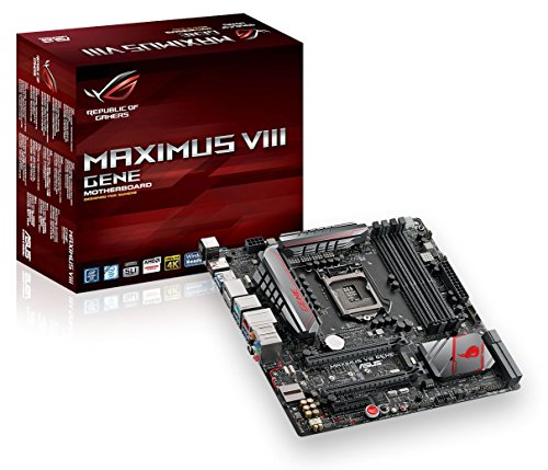 ASUSTeK Intel Z170 with sixth generation Core i7 (Socket LGA1151) motherboards MAXIMUS VIII GENE [MATX]