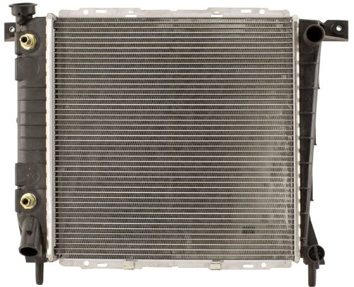 Shepherd Auto Parts 1 Row w/o EOC w/ TOC OEM Style Complete Replacement Radiator (1987 Ford Ranger Radiator compare prices)