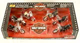 Harley Davidson Motorcycle 6pc Set 1/18 Scale Collectors Edition by Maisto - Collection #2