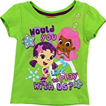 Bubble Guppies Toddler Green T-Shirt 7B7764 (3T)