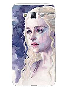 Samsung E7 Back Cover - Game Of Thrones Daenerys Targeryan - Designer Printed Hard Shell Case