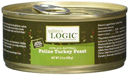 Nature's Logic Feline Turkey Feast