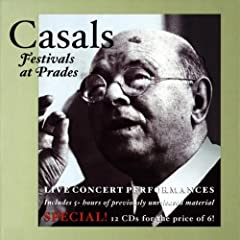 �v���h�E�J�U���X���y�Ճ��C����1�W (Casals Festivals at Prades -Live Concert Performances-)