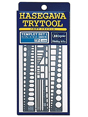 Hasegawa Try Tool Series Template one straight edge (TP1) - 1