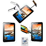 Acm Tempered Glass Screenguard For Lenovo A7-50 A3500 Tablet Screen Guard Scratch Protector
