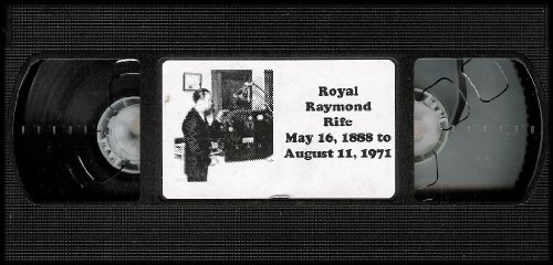 Rife'S Lab 1934 (The Story Of Royal Raymond Rife) Vhs Video