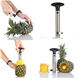 Super Z Outlet® Stainless Steel Pineapple Easy Slicer and De-Corer